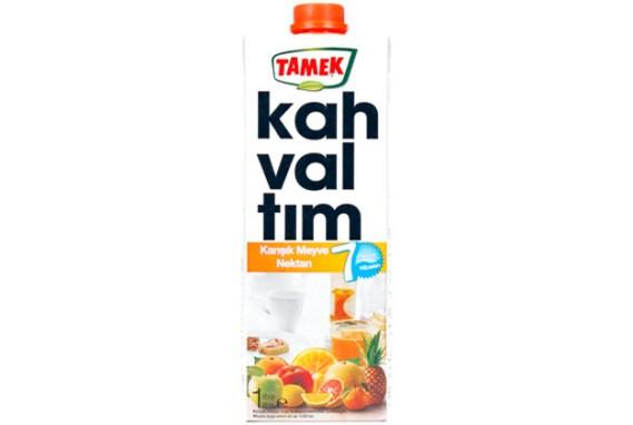 Tamek Juice 12X1Lt Mix Breakfast Nectar