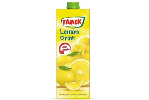 Tamek Juice 12X1Lt Lemon Drink
