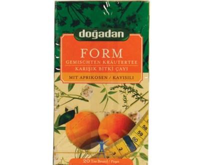 Dogadan Tea Form Apricot 12X20