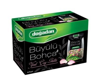 Dogadan Tea Bohca GrenRose12X16