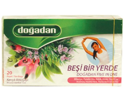 Dogadan Tea Five in One 12X20