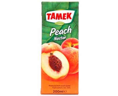 Tamek Juice Tp 27X200Ml Peach Nectar
