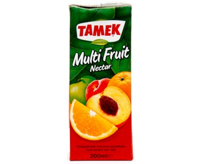 Tamek Juice Tp 27X200Ml Mix Nectar
