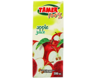 Tamek Juice Tp 27X200Ml Apple Juice