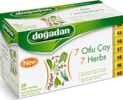 Dogadan Tea 7 Herbs Mix 12X20