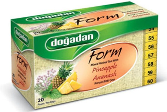 Dogadan Tea Form Pineapple 12X20