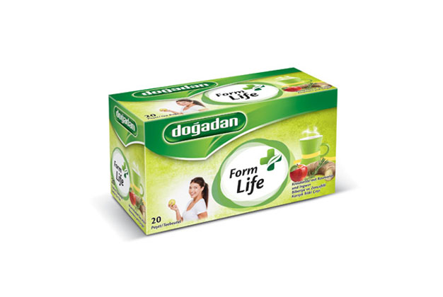 DOGADAN TEA FORM (LIFE) ROSEMARY & GINGER 12X20
