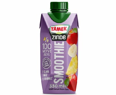Tamek Smoothie Apple-Banana-Pineapple 12X330Ml
