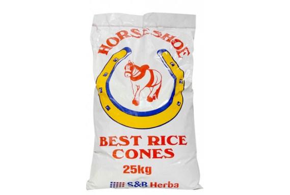 Horseshoe Rice Cones 25Kg