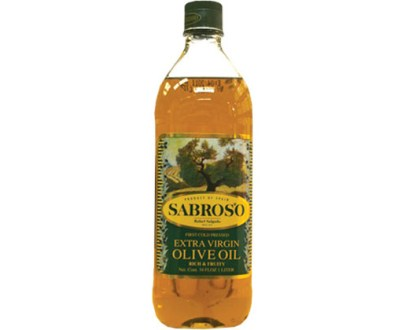 Sabroso Ext Virgin Oil 12X1L