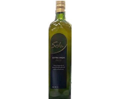 Selin Extra Virgin Olive Oil Glass  12X1Lt