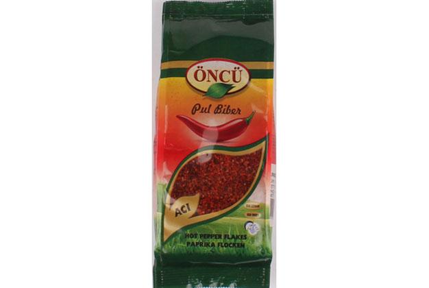 Oncu Hot Pepper Flakes 8X200Gr