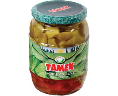 Tamek Green Beans Jar 12X720Ml