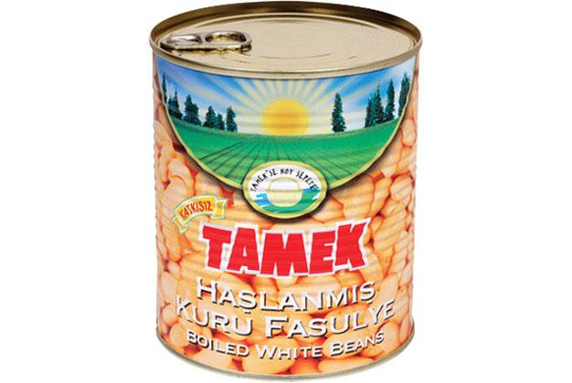 Tamek White Beans Boiled 12X1K