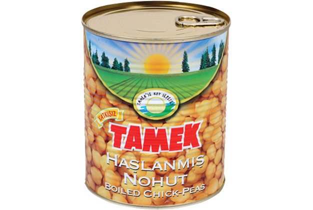 Tamek Chickpeas Boiled 12X1Kg