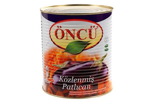 Oncu Roasted Eggplant 3/1 Tin 6X2.7Kg