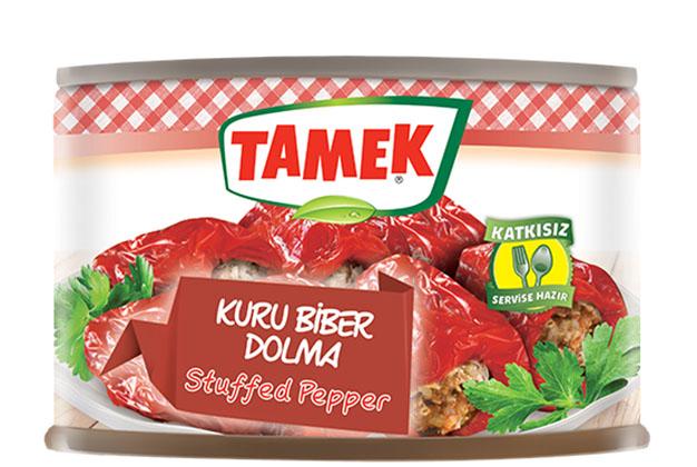 Tamek Rf Stuffed Dried Pepper 12X400G