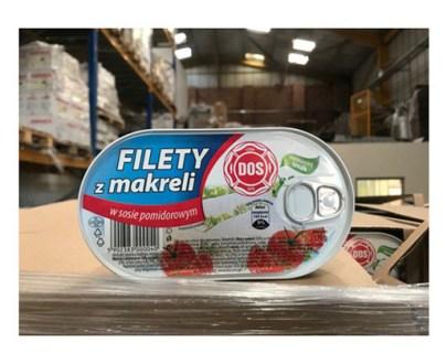 Dos Filety Z Makreli 15X170Gr