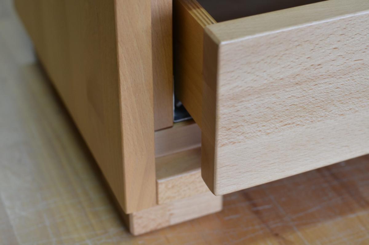 szufladka szafki nocnej buk naturalny