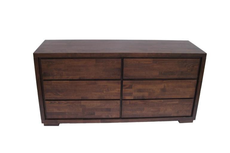 komoda z litego drewna