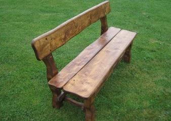 meble ogrodowe, ławka ogrodowa