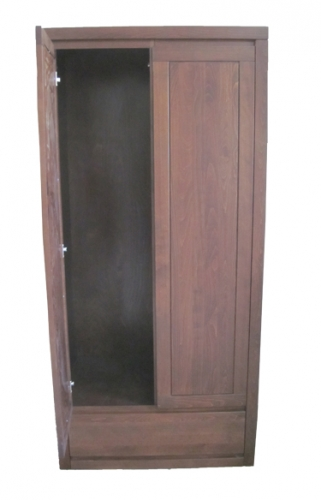 szafa drewniana z lustrem