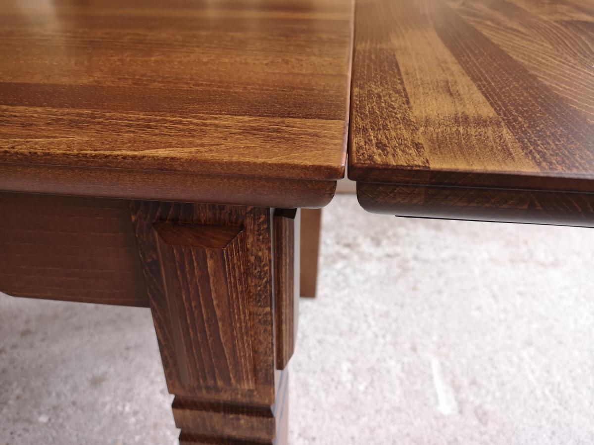 stół z frezem - dostawka