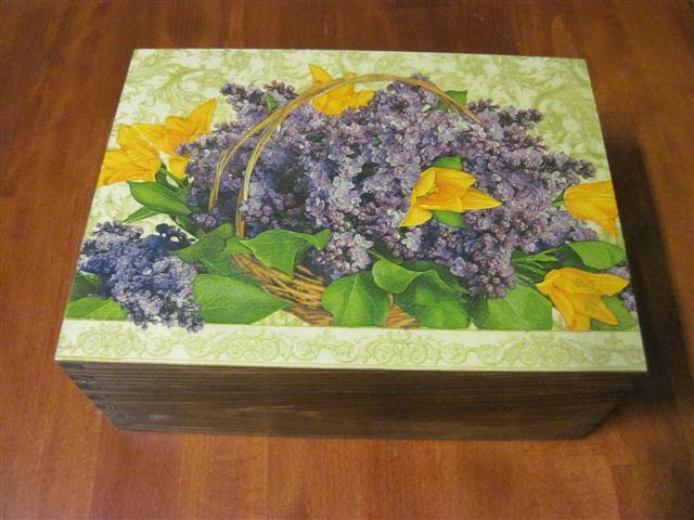 drewniane pudełeczko