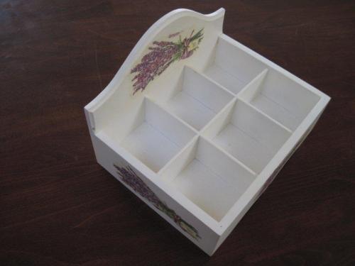 pudełko z przegrodami
