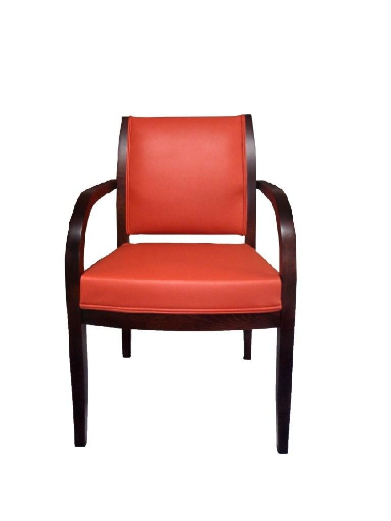 nowoczesny fotel dębowy