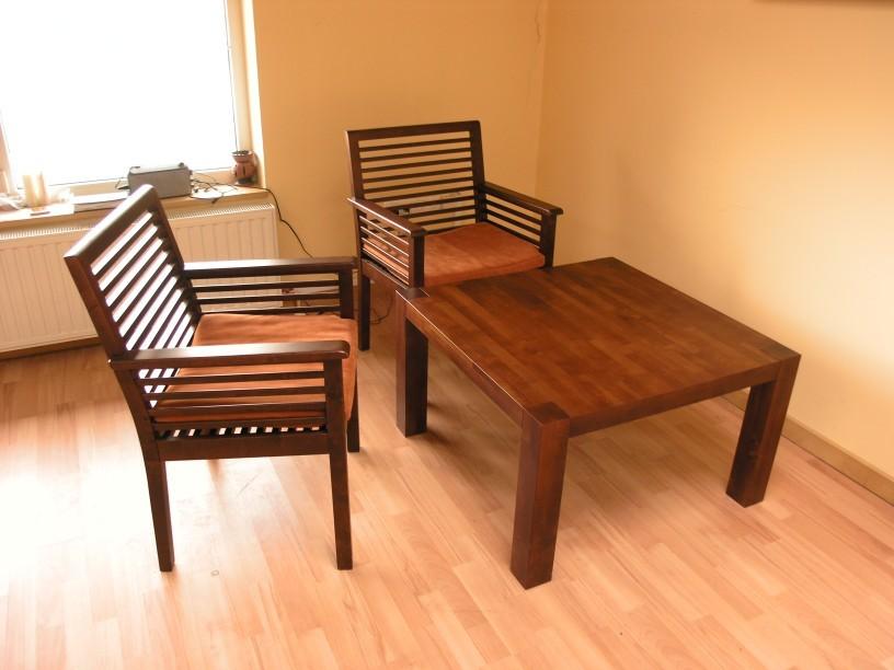 stół s1 kawowy fotele