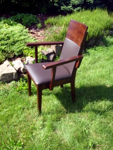 Fotel bukowy