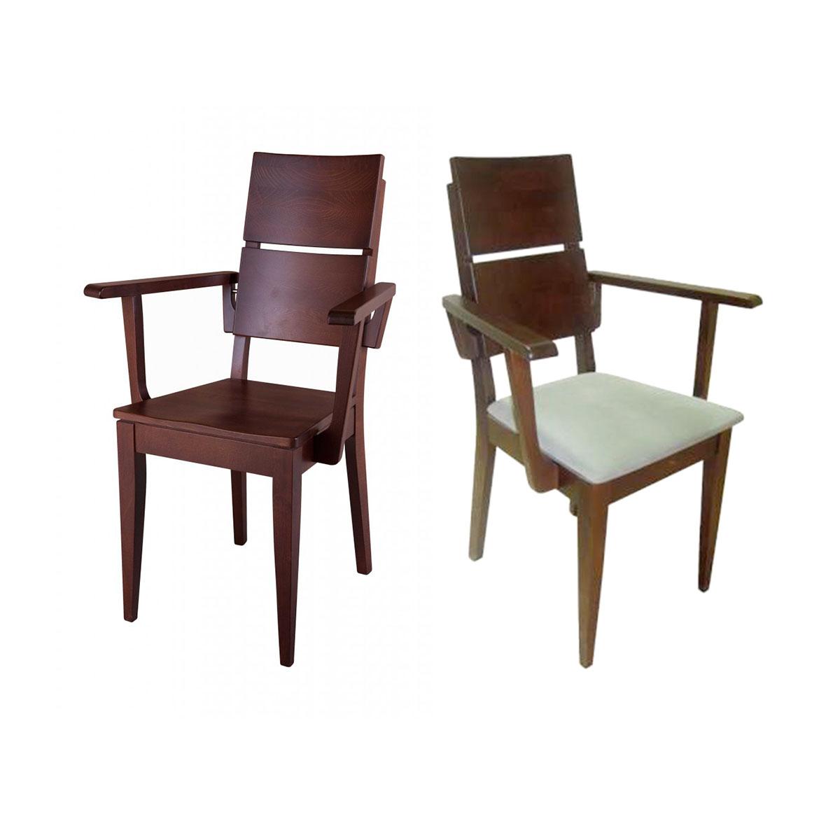 fotele drewniane