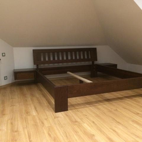 łóżko bukowe LK6