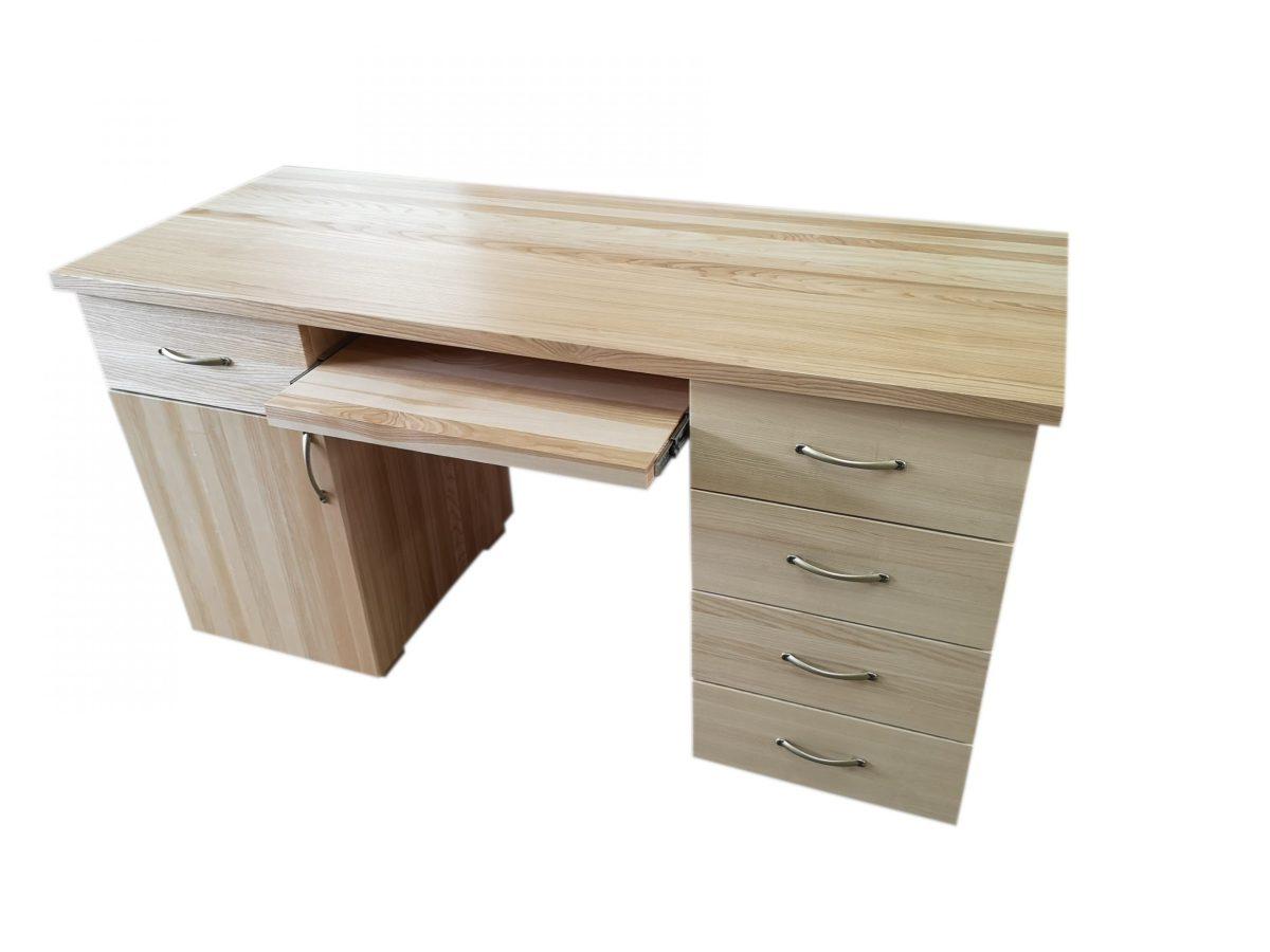 biurko jesionowe
