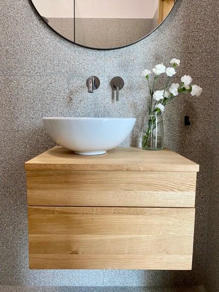 komoda łazienkowa dwie szuflady
