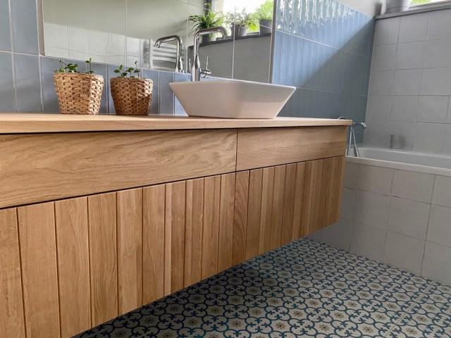 komoda łazienkowa pod umywalkę