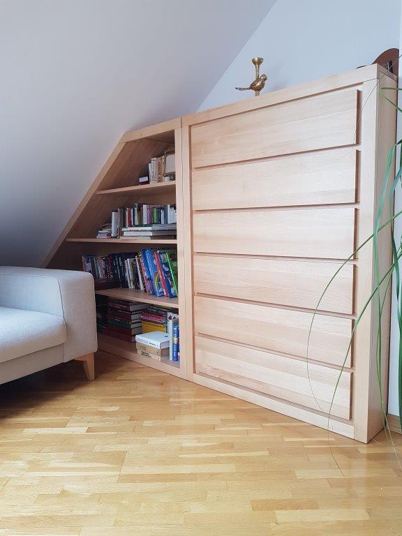 meble drewniane skosy