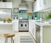 warm white kitchens