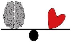 brain heart scale balance