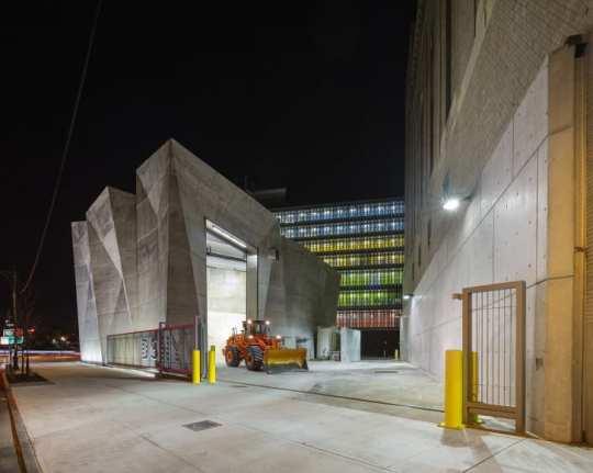 DSNY-Parking Garage and Salt Shead