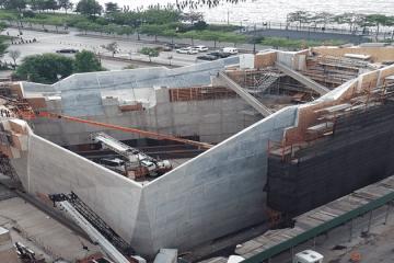 salt shed shoring project