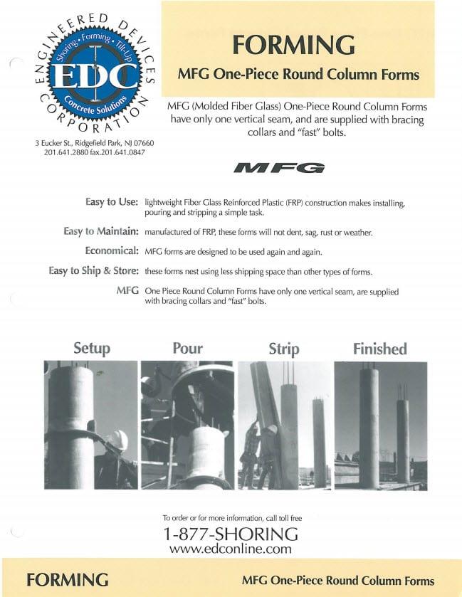 round column forms