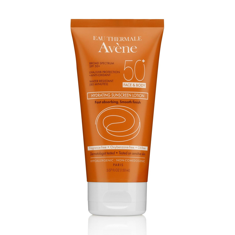 Avene Hydrating Sunscreen Lotion SPF 50+ FACE BODY