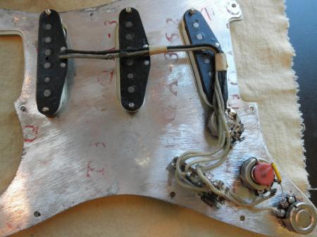 wiring diagram for fender stratocaster pickups yamaha moto 4 1963 orig strat picks,pots,3 way switch pre cbs best