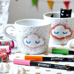 Cheery Hand Painted Mugs Ideas Edding