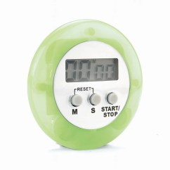 Digital Kitchen Timers Wall Mounted Shelves Thermometers Eddingtons Timer Purple 850015 850013
