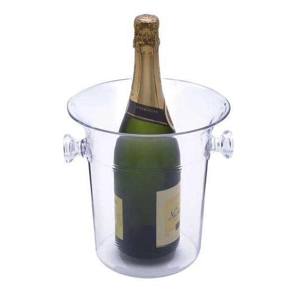 Acrylic Champagne Bucket With Handles - Eddingtons