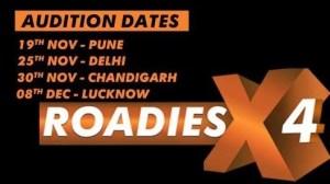 Roadies X4 Audition Date