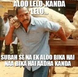 Nana patekar comedy dialogue - aloo lelo kanda lelo